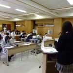産業社会と人間の授業風景